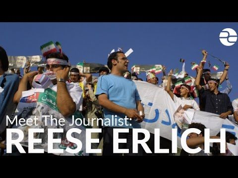 Reese Erlich reports from Iran. Reese sent me the various elements for this news piece, and I edited them together into a short report.