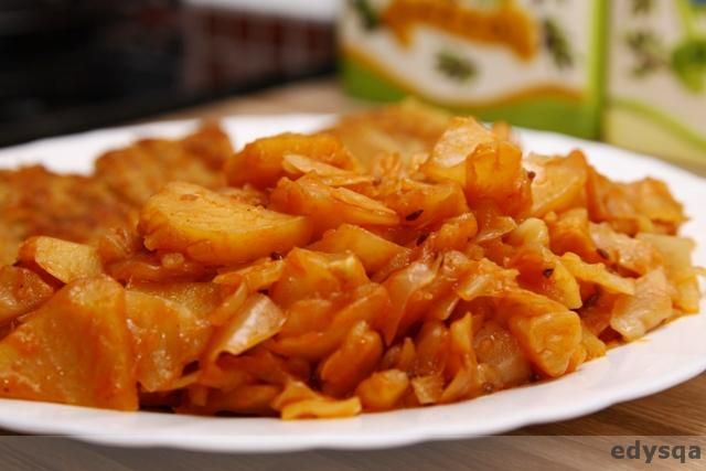 ziemniaki z kapustą białą