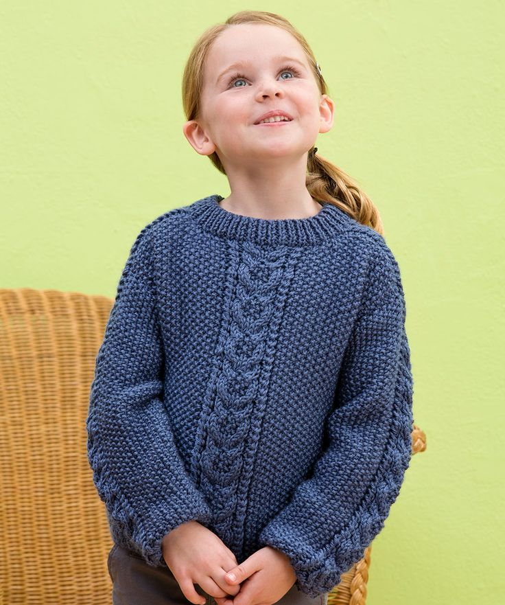 Saddle Shoulder Pullover Knitting Pattern  #knit  #redheartyarns