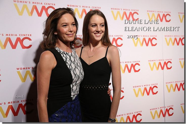DIANE LANE, ELEANOR LAMBERT..2015