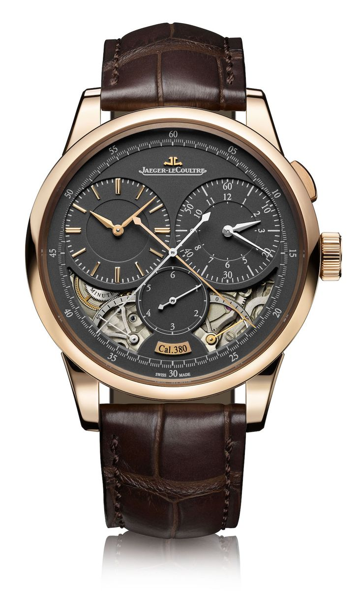 """Jaeger-LeCoultre Duomètre Watches With Magnetite Grey Dials - by James Stacey Get more info on the Duomètre line at: http://www.ablogtowatch.com/jaeger-lecoultre-duometre-watches-magnetite-grey-dial/ """"Unless you're just now waking up from a coma, or have recently returned to civilization after an extended stay on a desert island, the Jaeger-LeCoultre Duomètre line isn't new. Having been launched in 2007, the Duomètre is roughly as new a concept as the iPhone..."""""""