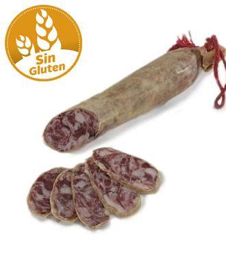Salchichón Extra Producción Ecológica sin gluten y sin lactosa pieza (vacío 0.32 kg. aprox.) #salchichon #singluten #sinlactosa
