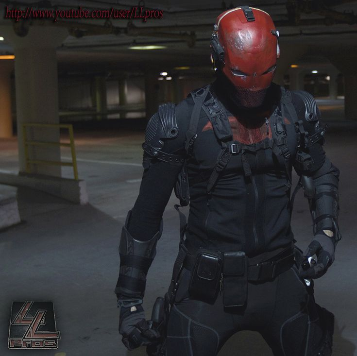 I need this in my life   Red Hood cosplay by LLPros.deviantart.com
