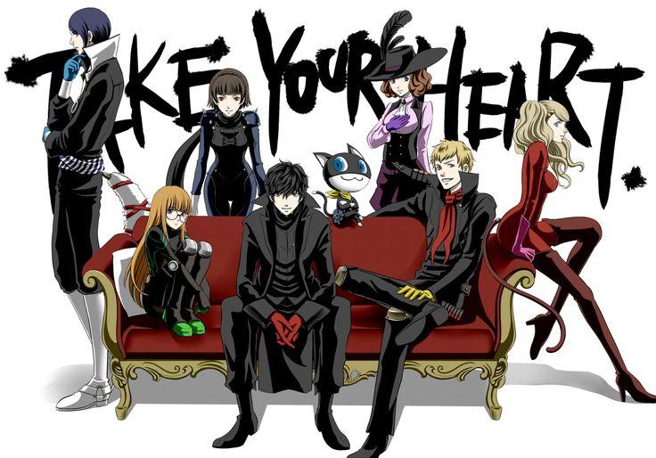 Persona 5 Joker, Queen, Mona, Noir, Skull, Panther, Fox, Oracle