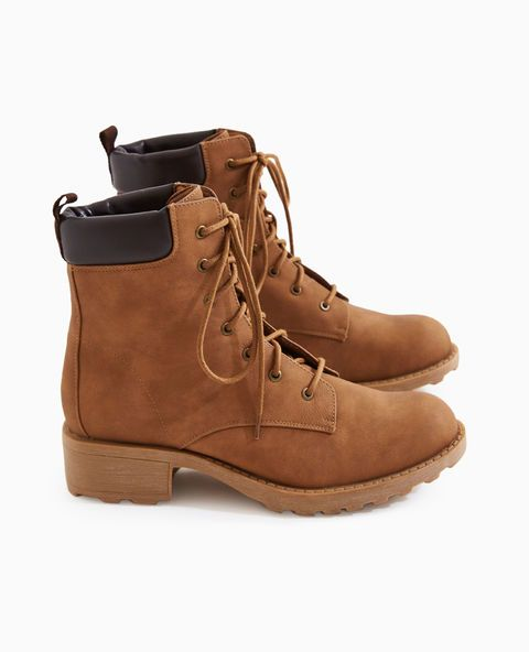 Vegan Leather Hiking Boots | Wet Seal