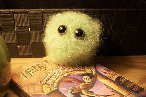 Day 11: Favourite Magical Creature - Definitely Pygmy puffs!! Sure, they don't do a lot, but they're adorable! I really really want one <3