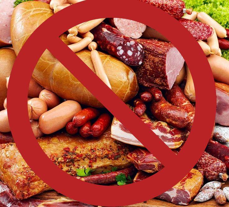 отрицание вредной еды