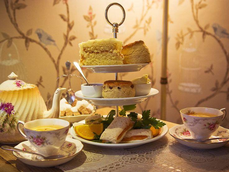 Afternoon tea at Orange Pekoe