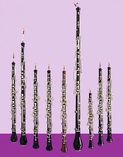 Oboes everywhere
