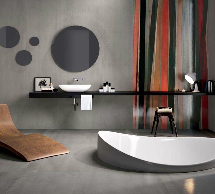 bathroom, cement, f.s bath