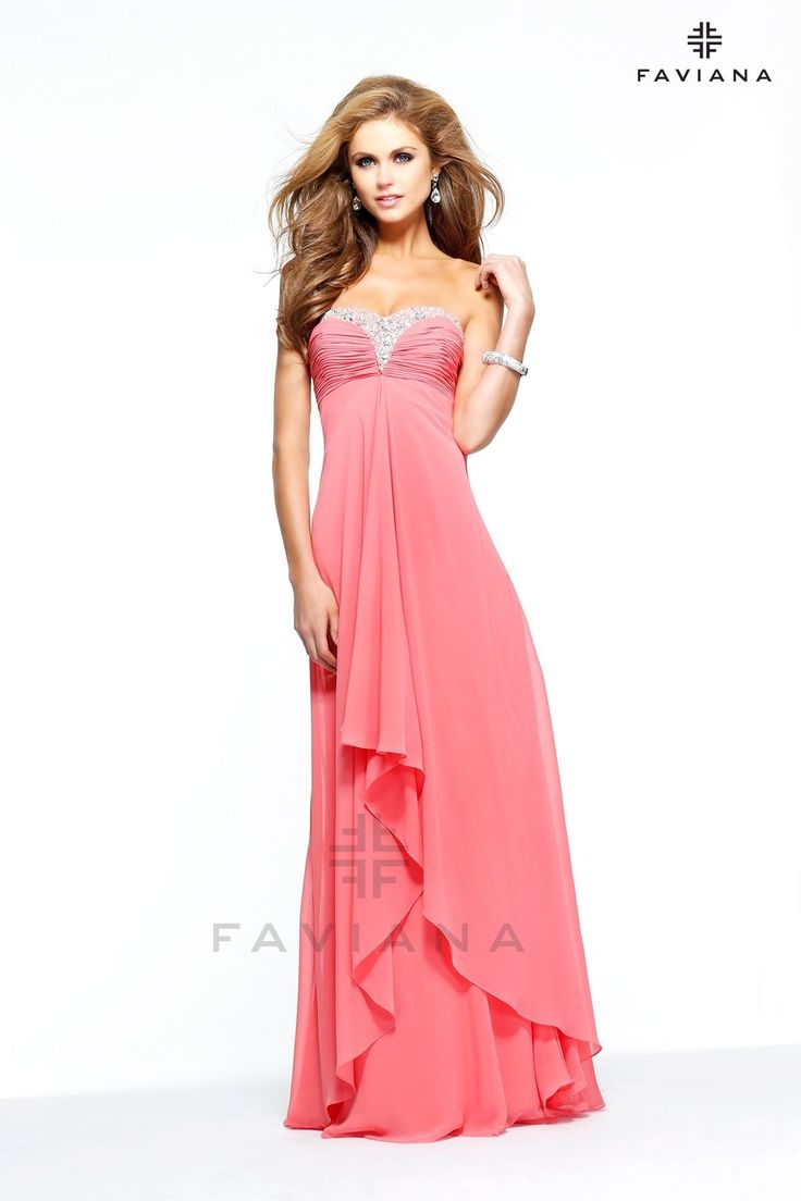 Mejores 1118 imágenes de Faviana en Pinterest | Vestidos de noche ...