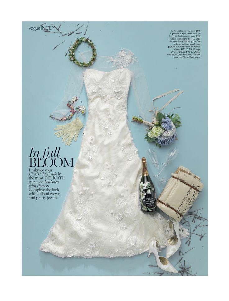 Vogue Bride Amy - White Satin http://www.alanpinkus.com.au/