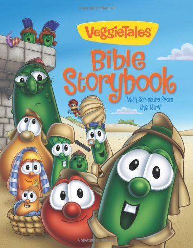 Bestseller Books Online VeggieTales Bible Storybook: With Scripture from the NIrV (Big Idea Books) Cindy Kenney $10.19  - http://www.ebooknetworking.net/books_detail-0310710081.html: Big Ideas, Bible Stories, Bible Storybook, Book Worth, Veggies Tales, Ideas Book, Cindy Kenney, Veggiet Bible, Children Book