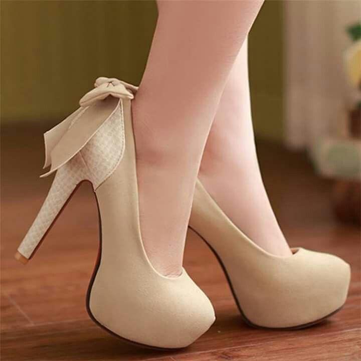 Womens Slim Stilettos Pumps Back Bowknot Faux Suede Party High Heels Court  Shoes