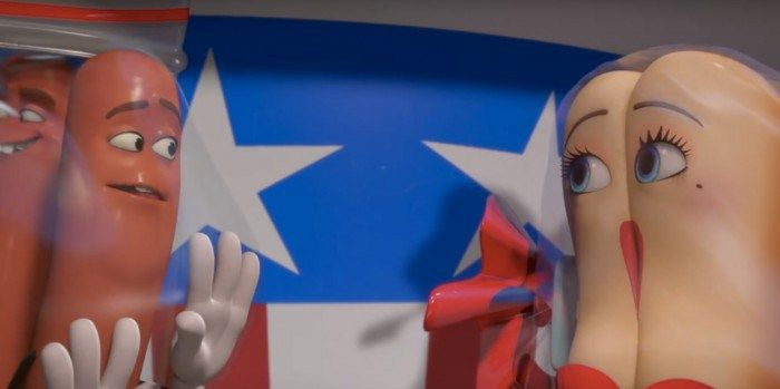 Review: 'Sausage Party' Is Raunchy, Raw and One of the Most Outrageous, Funniest Movies of the Year http://best-fotofilm.blogspot.com/2016/08/review-sausage-party-is-raunchy-raw-and.html  Note:WithSausage Party in theaters this weekend, we're re-running our review from San Diego Comic-Con.  Seth Rogen has said on a number of occasions that the desire to make his own animated movie came from a love for Pixar movies. Even though he didn't exactly grow up on them as a child (he was already 14…