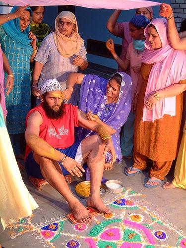 India Punjabi Wedding / Le Dan