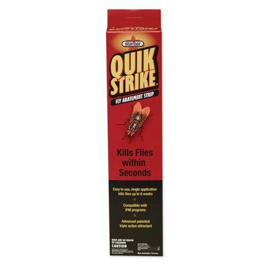 Starbar QuikStrike Fly Abatement Strip Trap Kills Flies within Seconds