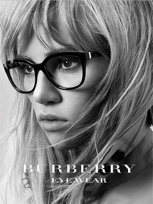 Burberry Prorsum - Burberry 2015 Eyewear Campaign [] In this picture: Suki Waterhouse Credits for this picture:Christopher Bailey (Designer), Cuneyt Akeroglu (Photographer), Neil Moodie (Hair Stylist), Petros Petrohilos (Makeup Artist)