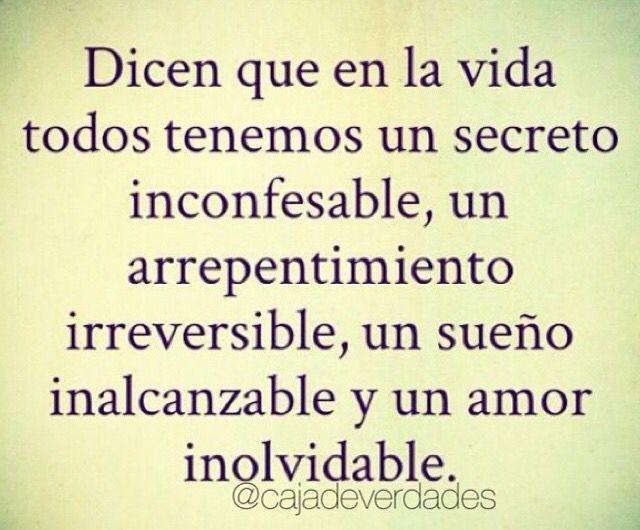 Todos tenemos un secreto....