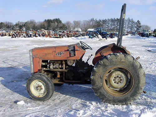 Used Tractor Parts Salvage Yards : Best images about massey ferguson ag equipment on