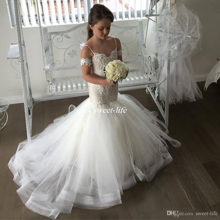251 best flower girl dresses images on pinterest flower for Wedding party dresses for girl