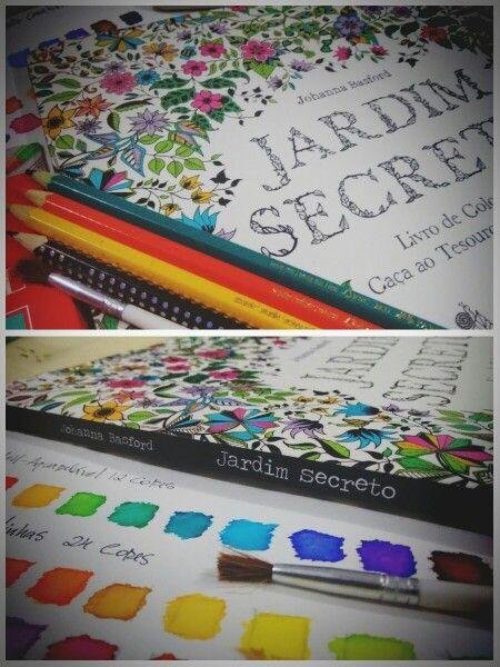 Inicia aqui minha jornada em busca do melhor tom, melhor efeito e cor no mundo da Johanna Basford. Aqui irei mostrar toda minha experiência nos trabalhos de pinturas dos livros de colorir