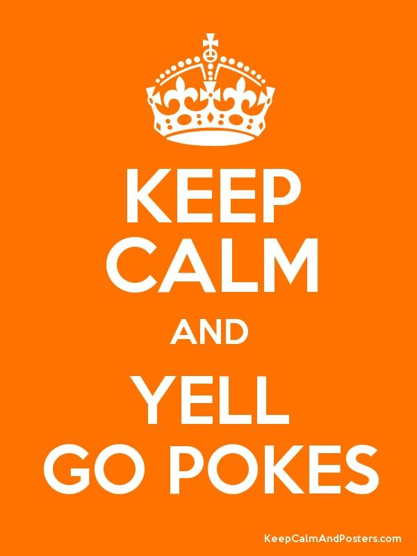 KEEP CALM AND YELL GO POKES Poster