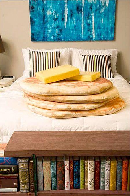 Pancake pillows. YAS
