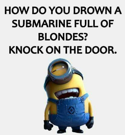 hahaha!! I don't mean this as offensive to anyone, i'm a blonde myself.
