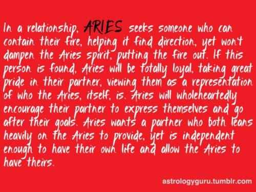 Aries dating aries man