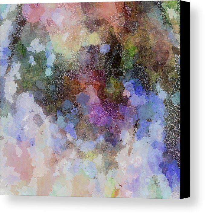 Shaman Canvas Print featuring the digital art The Shamans Bath by Dorothy Berry-Lound