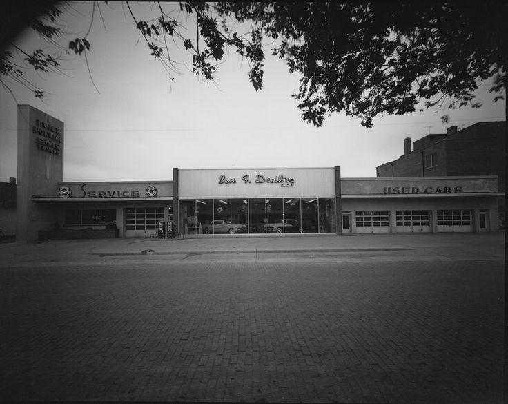 Ben Dreiling Motors Hays, KS -- 1956