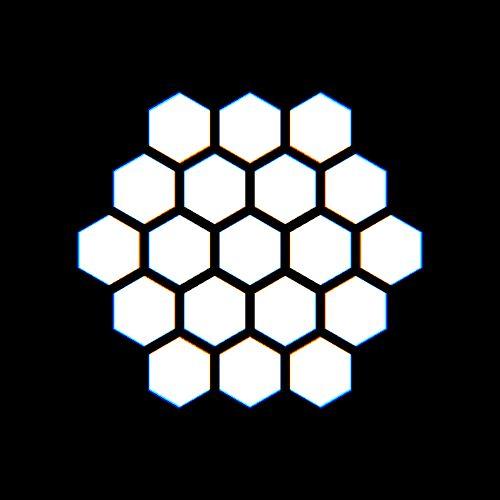 beesandbombs: hexagons