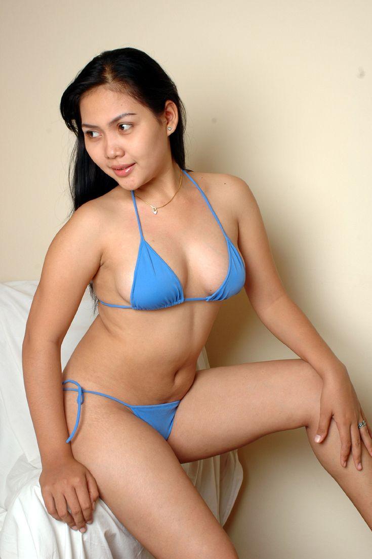 Gambar Bugil INDRI Hot Blue Bikini... part.2