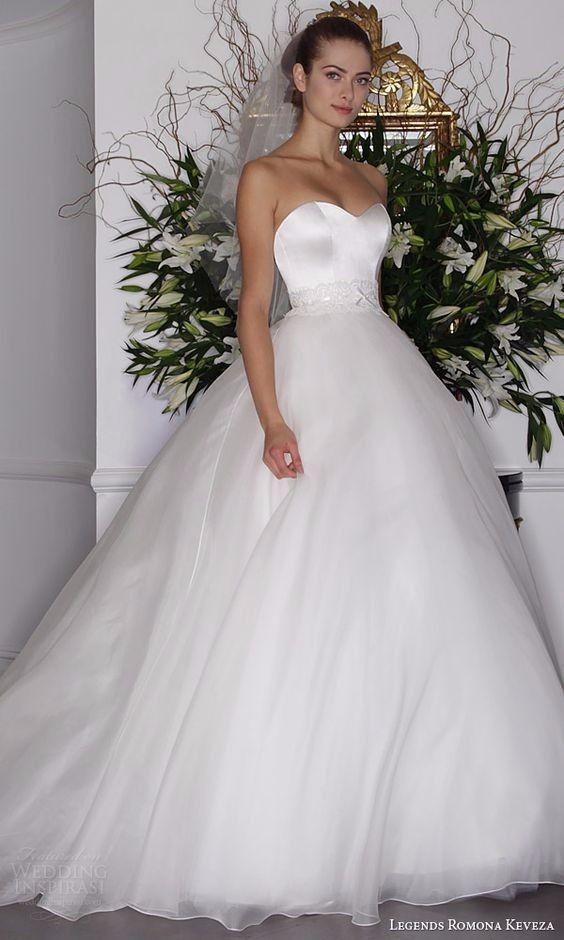 Robe de mariée en tulle, coupe princesse avec un volume extra !