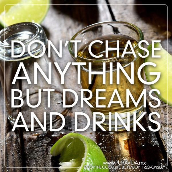 Dream chaser #tequila #shots