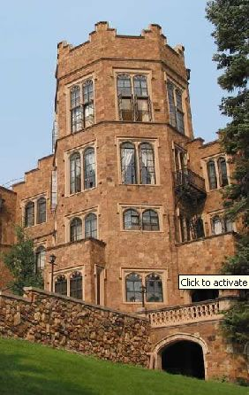 Colorado Springs own Glen Eyrie.  Bed and Breakfast. <3