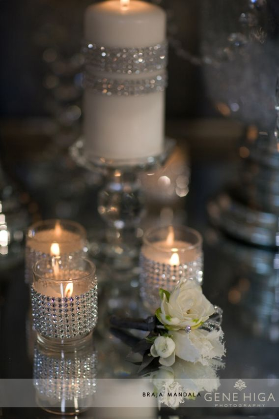 Sparkle Gene Higa Braja Mandala 1005web1 Sparkle + Crystal + White  Wedding Theme