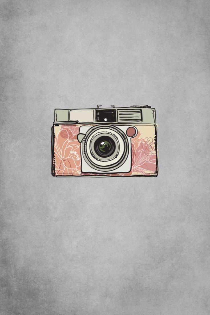 Картинка фотоаппарата для инстаграм актуальных