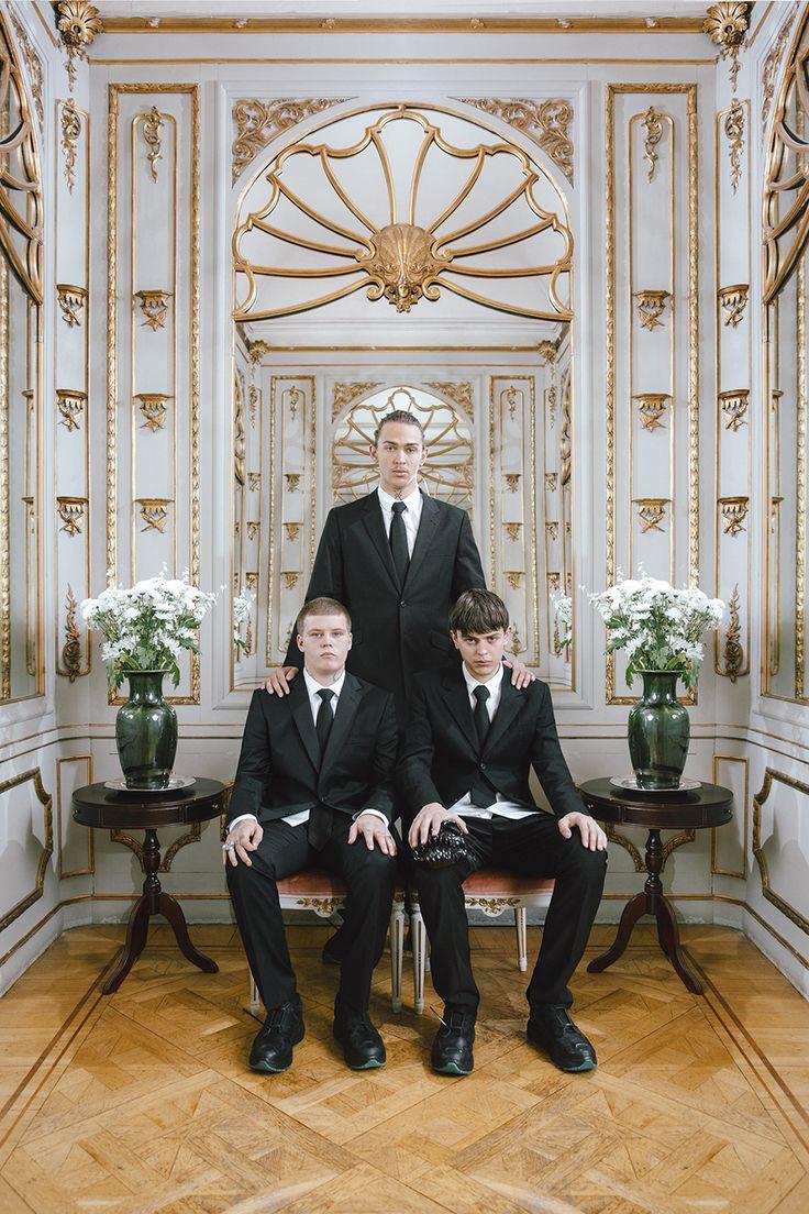 Sad Boys photographed by Kristin-Lee Moolman for #Eytys.