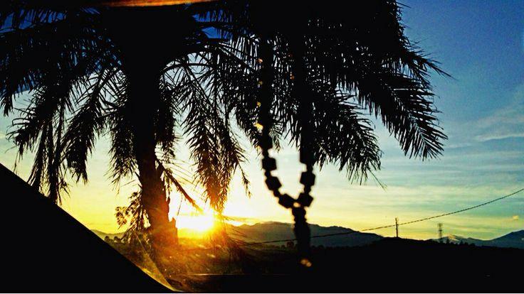 Sunshine at Bogor, West Java, Indonesia - 06.10 AM