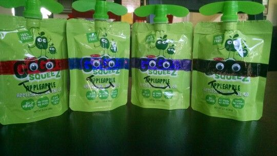 Preschool Ninja Turtle Snack!