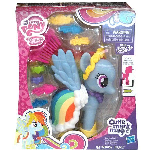 Rainbow Dash Cutie Mark Magic Fashion Style