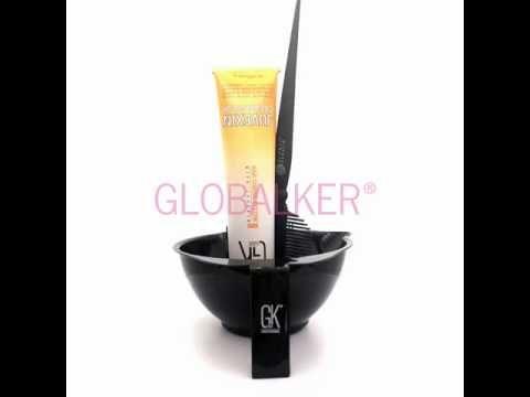 Global Keratin Cream Color mixing bowl application brush. GK Hair Juvexin sklep warszawa gloalker - YouTube
