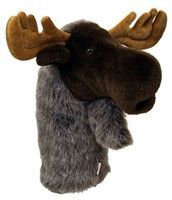 #pet #pets Moose Golf Headcover: A mischievous Moose Golf Headcover may be the perfect item to keep your golf game out of the… #petsupplies