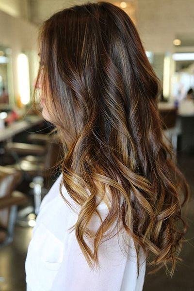 Subtle ombre for the upcoming season - 15 Fall Hair Color Ideas for 2014 | Daily Makeover