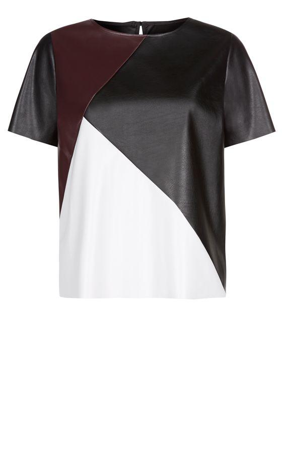 Primark Panel T-Shirt, 312