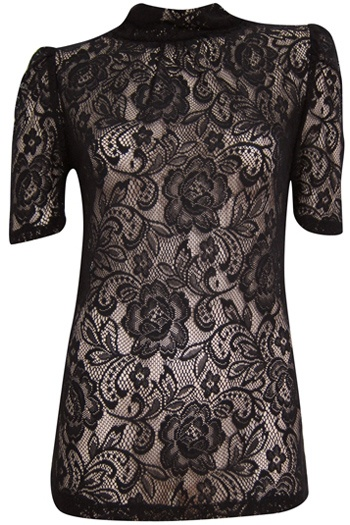 Lace, always in style.Sharon Needle