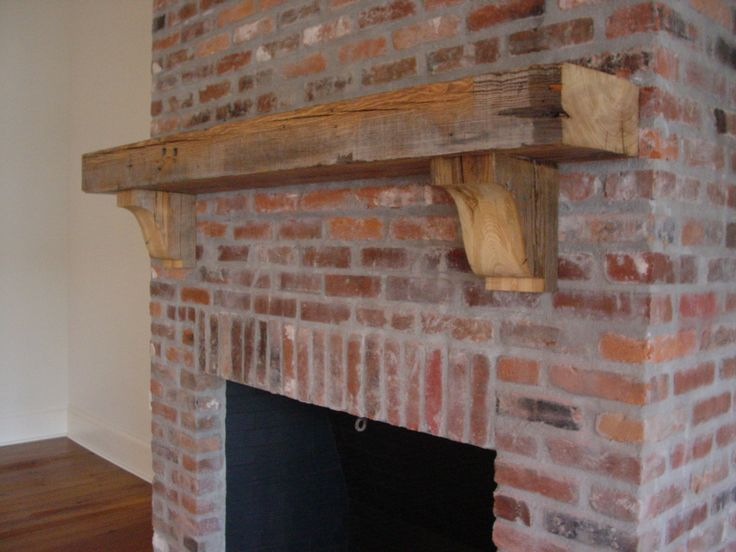 Beam Mantle W Big Corbels Fireplace Fireplace Mantle