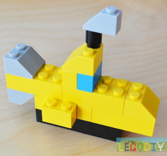 Easy Lego Building Ideas 10696  How to make simple pig from